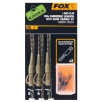 FOX EDGES™ READY TIED SUBMERGE LEADERS - EDGES BROWN 30LB LCR